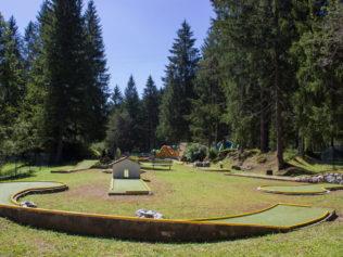 Lago di Mosigo: Minigolf e tanto altro!